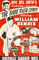 The Babe Ruth Story 1948 DVD - William Bendix / Claire Trevor
